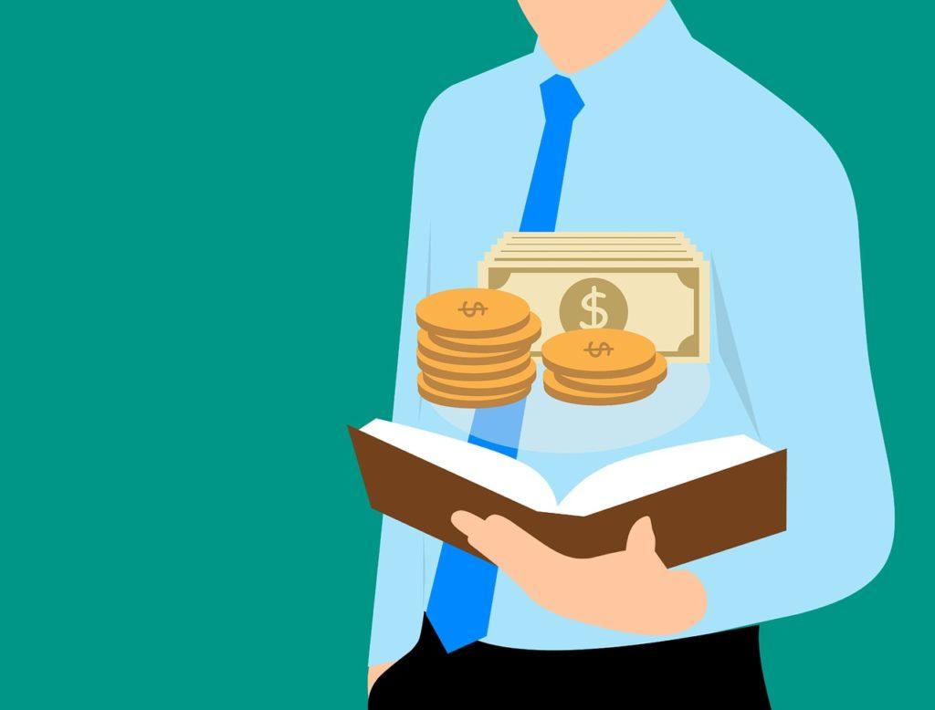 financial, money, guide book
